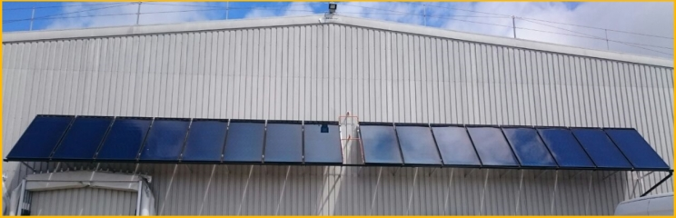 Barilla F25 Flat Plate Solar Thermal Collectors 2.5m2